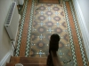 collingham-victorian-tiled-floor-stair-view-prior-to-restoration