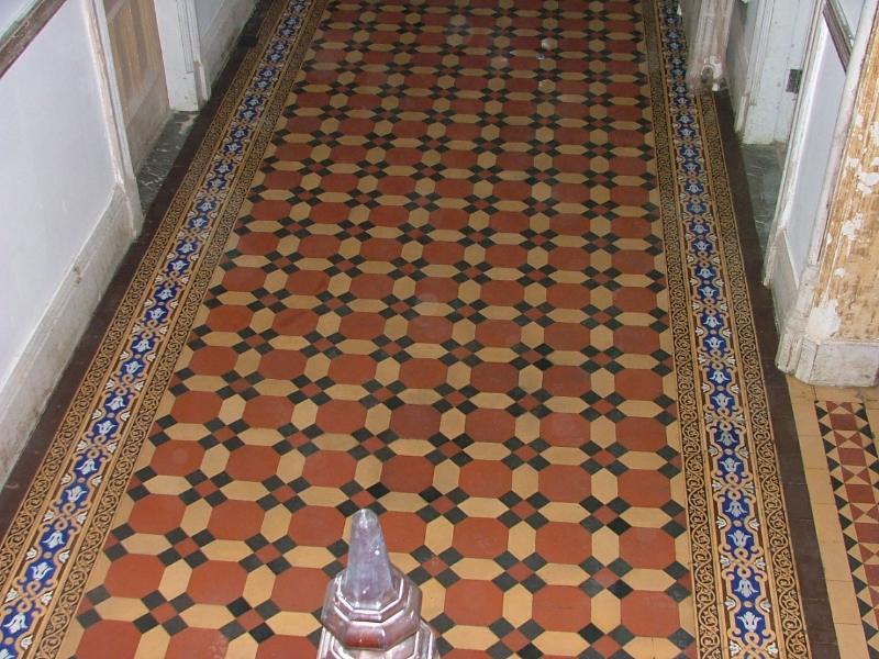 Specialist Cleaning Heritage Tiling Restoration