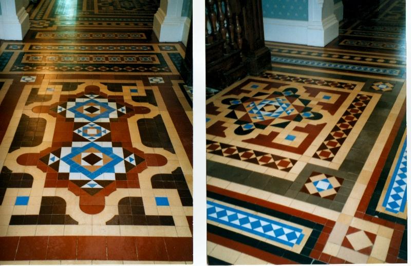 Victorian Floor Tiles Restoration Images Modern Flooring Pattern