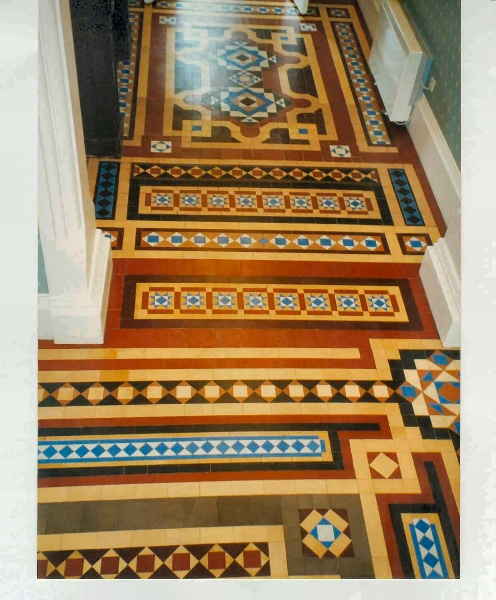 Victorian Tile Restoration Other Projects Heritage Tiling